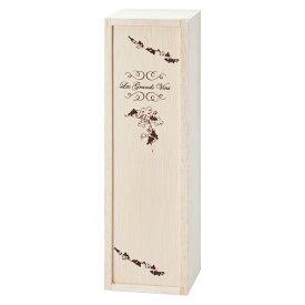 [5400円以上で送料無料] フランスお土産 | ボルドータイプ用 ワイン木箱 1本用【201043】
