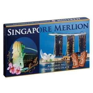[5400円以上で送料無料]シンガポールお土産 ? マーライオン アーモンドチョコレート 1箱【196056】
