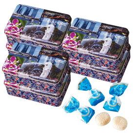 [5400円以上で送料無料]シンガポールお土産 | バティック缶入りミルクキャンディ 6缶セット【196066】