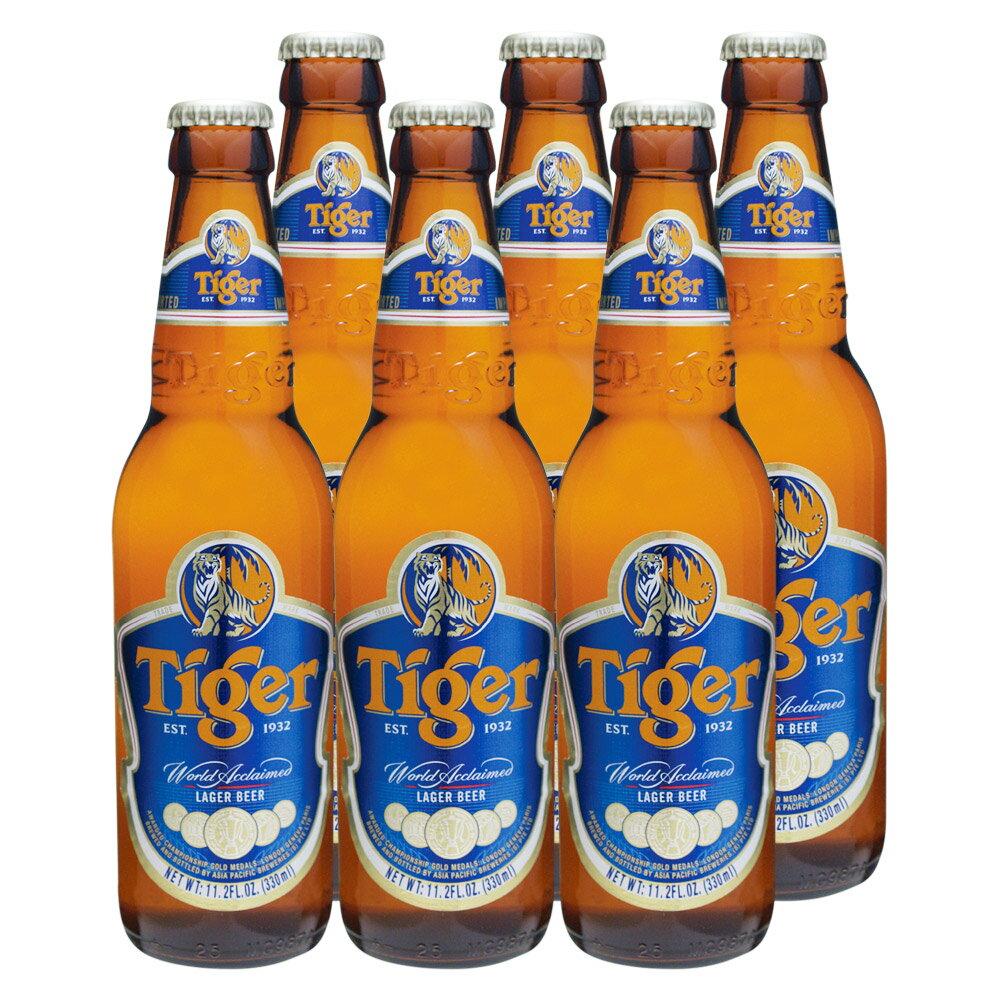 [5000円以上で送料無料][父の日] シンガポールお土産 | タイガービール 6本セット【R86010】