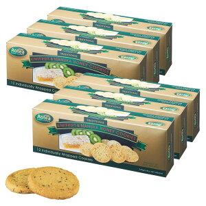 [送料無料] ニュージーランドお土産 ? Aotea(アオテア) キウイ&マヌカハニークッキー 6箱セット【195053】
