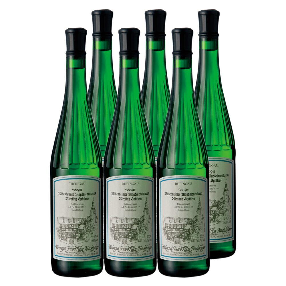 [送料無料] ドイツお土産 | リースリングシュペトレーゼ 5本で1本サービス 白ワイン やや甘口【R81045】