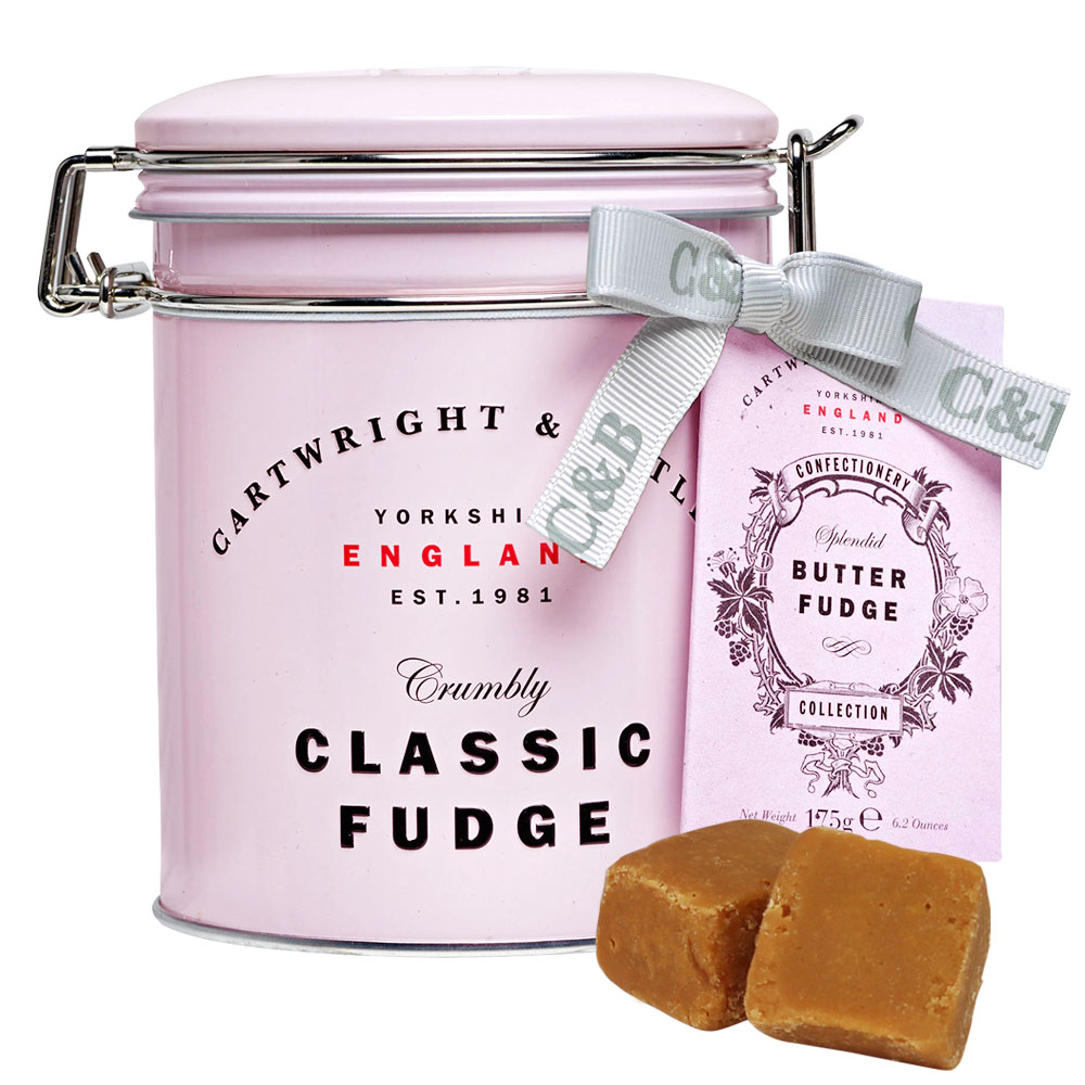 [5000円以上で送料無料] C&B カートライトアンドバトラー   バターファッジ ピンク缶【105921】