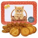 [5400円以上で送料無料] ラ・トリニテーヌ 子猫 オレンジ缶 (キャッツ・キュリュ) ネコ ガレット・パレット詰め合わせ…