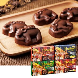 用超过[5000日元]泰国土特产| 象巧克力4种安排
