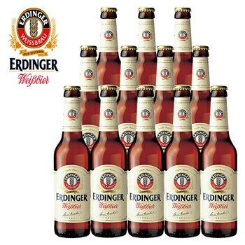 [送料無料] ドイツお土産   エルディンガー ヴァイスビール 12本セット【R81035】