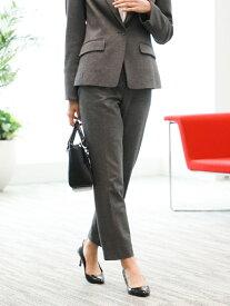 [Rakuten Fashion]【SALE/28%OFF】*Marisol掲載*【XSサイズ~】美スリムパンツ TRANS WORK トランスワーク パンツ/ジーンズ スラックス/ドレスパンツ グレー ネイビー【RBA_E】【送料無料】