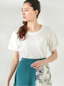 [Rakuten Fashion]【SALE/55%OFF】【LOVELESS】WOMENはっ水ポケットTシャツ LOVELESS ラブレス カットソー Tシャツ ホワイト グレー ブラック【RBA_E】【送料無料】