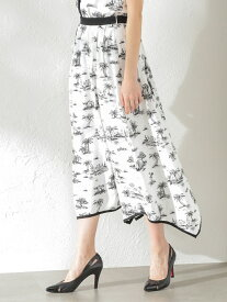 [Rakuten Fashion]【SALE/58%OFF】【LOVELESS】WOMENToileduJouyマキシスカート LOVELESS ラブレス スカート スカートその他 ホワイト レッド【RBA_E】【送料無料】