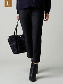 [Rakuten Fashion]【SALE/26%OFF】【L】ヘリンボンハイテンションパンツ EVEX by KRIZIA(大きいサイズ) サンヨー エルサイズ パンツ/ジーンズ パンツその他 グレー ホワイト【RBA_E】【送料無料】