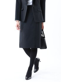 【SALE/43%OFF】【セットアップ対応】【美Skirt】トロストライプストレッチスカート TRANS WORK トランスワーク スカート ロングスカート ネイビー グレー【RBA_E】【送料無料】[Rakuten Fashion]