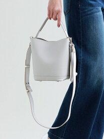 [Rakuten Fashion]【SALE/36%OFF】サイドリボン2WAYバッグ TRANS WORK トランスワーク バッグ ショルダーバッグ グレー ネイビー【RBA_E】【送料無料】