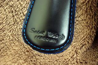 日本唯一のコードバンタンナー・新喜皮革社製コードバン使用靴べら付キーホルダー【楽ギフ_包装選択】【楽ギフ_メッセ入力】【RCP】10P13oct13_b