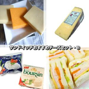 【セット】【詰め合わせ】【選べる】サンドイッチおすすめチーズセット・B(総重量900g以上)