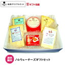 【送料無料】【楽ギフ_包装】【楽ギフ_のし】【楽ギフ_のし宛書】チーズ専門店、三祐よりお届け致します。6種類のチーズをふんだんに盛り込んだチーズ詰め合わせをぜひ☆ノルウェーチーズギフトセット【ギフト】