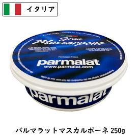 [あす楽]イタリア パルマラット マスカルポ−ネ チーズ 250g(parmalat)(Mascarpone Cheese)【ティラミス】【フレッシュ】