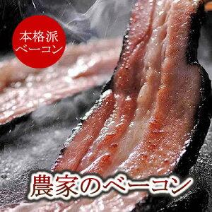 【ドイツ岩塩仕込み】北海道産じっくりスモーク農家のベーコン160g