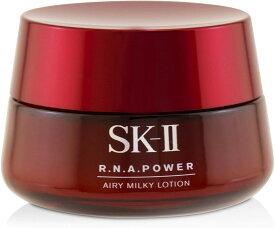 SKII R.N.A.パワー ラディカル ニュー エイジ エアリーミルキー ローション 美容乳液 80g 化粧品 乳液 エスケーツー 素肌 日本製 若々しい つや肌 ツヤ肌 うるおい 潤い