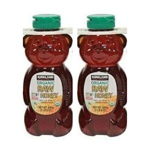 コストコ オーガニック KIRKLAND カークランド Organic Raw Honey オーガニック ローハニー680g 有機 生ハチミツ(生はちみつ)2本セット