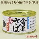 ●お得な24缶セット 木の屋 金華さばみそ煮 彩 缶詰 170g 金華さば 数量限定 さば缶詰 フレッシュパック 木の…