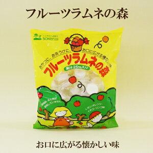 6個セット●創健社 フルーツラムネの森 110g×6 自然派ラムネ菓子