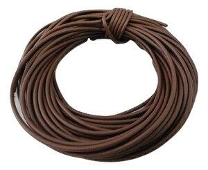電線・カラーコード 茶1 AVR0.4 外径約1.0mm 芯線数約12 約10m <cod-041>