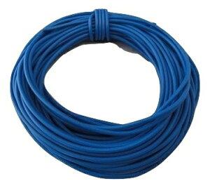 電線・カラーコード 青6 AVR0.4 外径約1.0mm 芯線数12 約10m <cod-046>