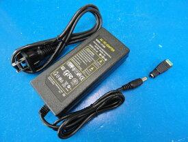 <ショーケースLED照明 LED照明12V用ACアダプター コネクタ付き 1.6A><電線約5m><led-371>