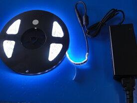 LEDテープ 5m 防水LED昼光色 間接照明 看板照明 LEDテープライト 昼光色<led-601>