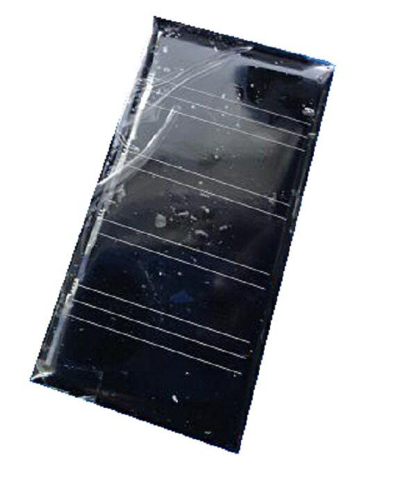 <太陽電池販売>工作用小型太陽電池 60x30mm 2v 50mA<psp-202>