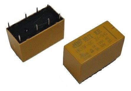 <小型リレー2回路 3V 125vAC-1A 30vDC-2A 2.54mmピッチ>2個入<rel-000>