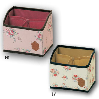 By ☆ ★ cute storage Aletta stand rack ivory / pink
