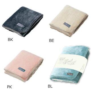 觸感也用osharefukafuka羊毛毯膝蓋掛kefukafuka毛皮圍巾羊毛毯光滑的布料是最大弗羅斯德羊毛毯S 100*70cm