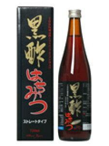 黒酢はちみつストレート 720ml本格熟成 黒酢 純生はちみつ 健康酢