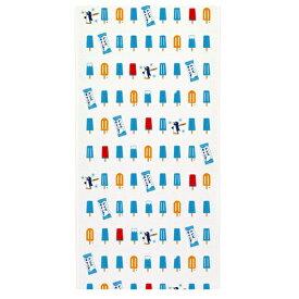 10/29まで秋SALE【10Pオフ】【定形外郵便対応】布ごよみ てぬぐい アイスキャンディ タオル 日本製