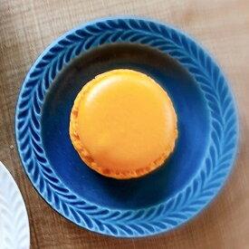 波佐見焼 有田焼 小皿 ローズマリー デニム 9.5cm 豆皿 おしゃれ モダン 和食器