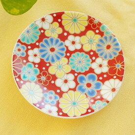 九谷焼 縁起豆皿コレクション 梅菊模様 小皿 豆皿 和食器 日本製 食器 おしゃれ お取り寄せ商品