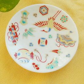 九谷焼 縁起豆皿コレクション 宝尽くし 小皿 豆皿 和食器 日本製 食器 おしゃれ お取り寄せ商品