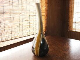 【アウトレット】窯変流し 鶴首花瓶