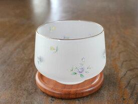 小花スリガラス煎茶