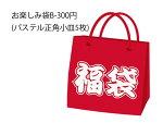 お楽しみ袋B-300円(パステル正角小皿)