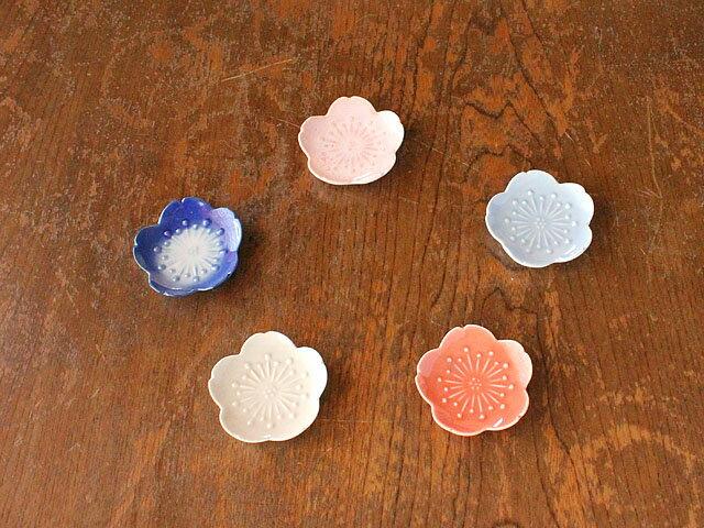 まんまる桜の珍味皿※箸置きにも(5色選択)