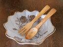 木製 サラダサーバー