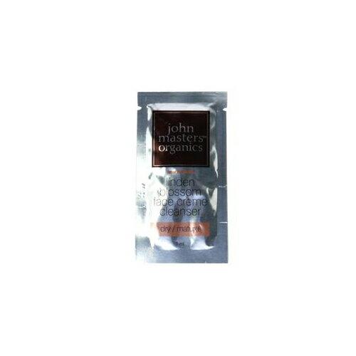 【メール便 送料無料】ジョンマスターオーガニック LBフェイスクリームクレンザー(リンデンブロッサム) 5ml 10個セット [JOHN MASTERS ORGANICS 洗顔料 ミルククレンジング ミニサイズ オーガニック]