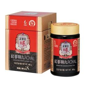 免税店販売商品 正官庄 高麗人参 紅参精丸ロイヤル(紅参精丸ROYAL)168g(約800丸)
