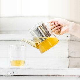 紅茶ポット 急須 [b2c ガラス ティーポット 耐熱] リーフティーポット ティーサーバー 茶こし付#SALE_TB