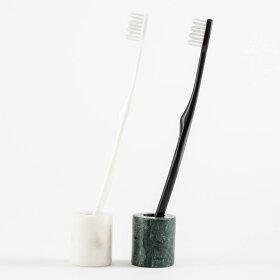 [b2cストーン/大理石ミニハブラシスタンド]歯ブラシスタンド歯ブラシホルダー歯ブラシ立て歯ブラシたて歯ブラシ入れ歯ブラシ歯ぶらしハブラシスタンドホルダー立て