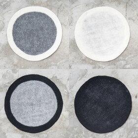 [b2cフェルトシートラグSφ90cm]円形ラグマットラグマット北欧おしゃれセンターラグじゅうたんカーペット敷物