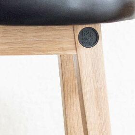 [b2cシンプルラウンドスツールハイ(ファブリックモスグリーン)]スツール北欧おしゃれ木製木製スツール省スペースシンプルナチュラル