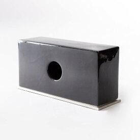 ティッシュケース ティッシュカバー [b2c セラミック ティッシュスタンド(ブラック)] ポケットティッシュ ボックス#SALE_BT